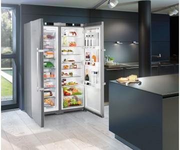 Достоинства холодильников SIDE-BY-SIDE от LIEBHERR