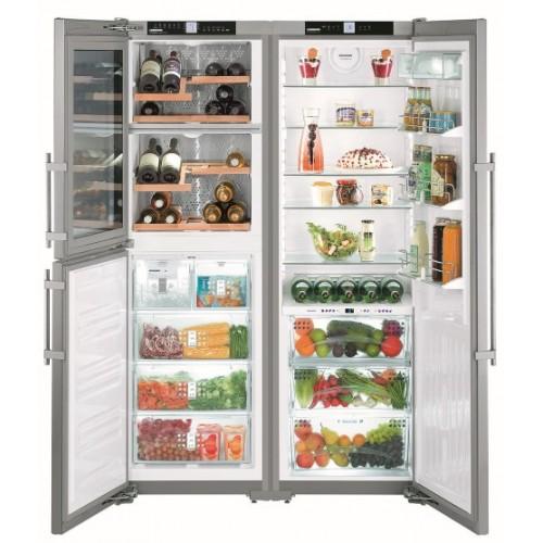 Холодильник-морозильник Side-by-Side Liebherr  SBSes 7165